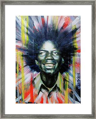 Brother Black... Mcmlxxv Framed Print by Brandon Coley