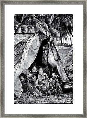 Brothers And Sisters Framed Print by Tim Gainey