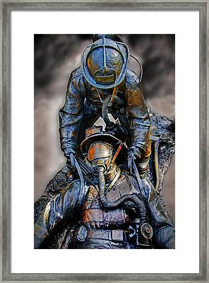 Brothers II Framed Print by Susan McMenamin