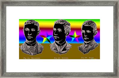 Brothers Three Framed Print by Eric Edelman