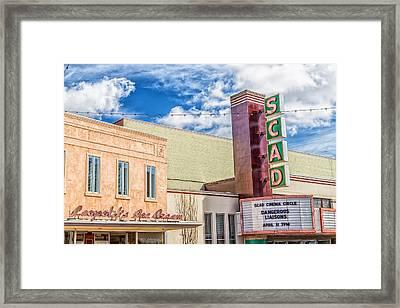Broughton Street Framed Print