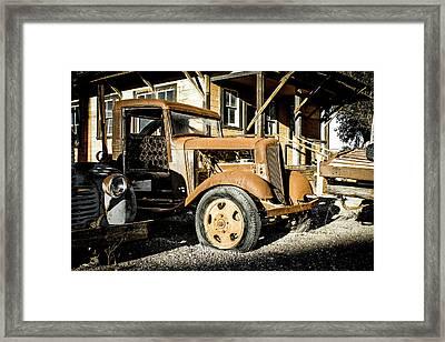 Vintage 1935 Chevrolet Framed Print