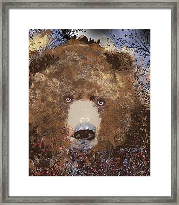 Visionary Bear Final  Framed Print