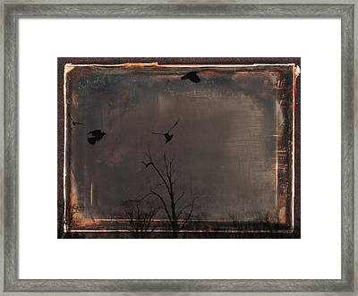 Brown Earth Framed Print by Gothicrow Images