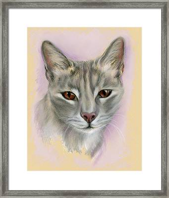 Brown Eyed Girl Framed Print by MM Anderson