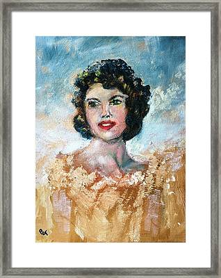 Brown Eyed Girl Framed Print by Patricia Taylor