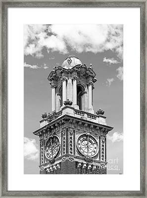 Brown University Carrie Tower Framed Print by University Icons