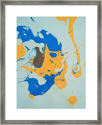 Brownie Baby Bird Framed Print by Gyula Julian Lovas