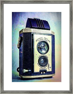 Brownie Reflex Framed Print by Jon Woodhams