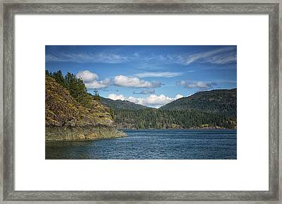 Browns Bay Framed Print by Randy Hall