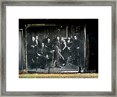 Bruce And The E Street Band Framed Print