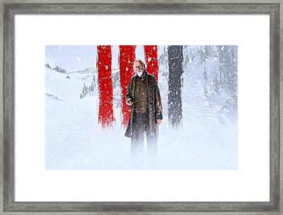 Bruce Dern The Hateful Eight Framed Print by Movie Poster Prints