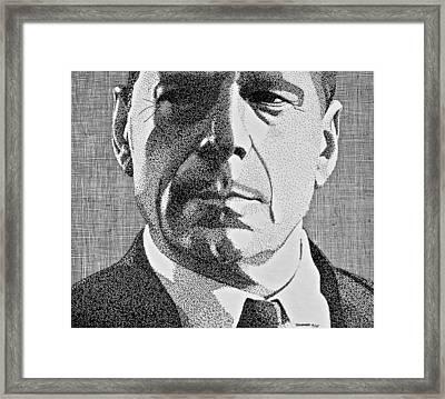 Bruce Framed Print by John Houseman