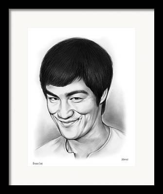 Hong Kong Drawings Framed Prints