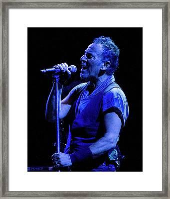 Bruce Springsteen-penn State 4-18-16 Framed Print