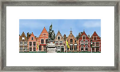 Bruge Framed Print by Julie Geiss