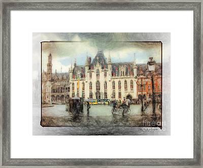 Bruges, Belgium Framed Print