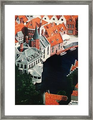 Brudges, Belgium Framed Print