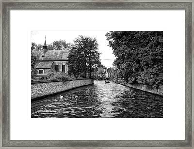 Bruges Bw2 Framed Print