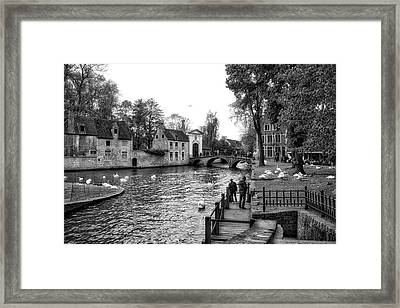 Bruges Bw3 Framed Print