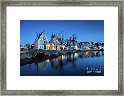 Magical Brugge Framed Print by JR Photography