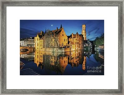 Brugge Framed Print by JR Photography