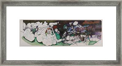 Bruises 2 Framed Print by Alexander Wilson
