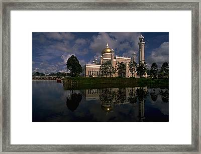 Brunei Mosque Framed Print