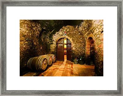 Brunello Vecchio Framed Print by John Galbo