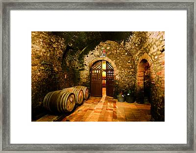Brunello Vecchio Framed Print