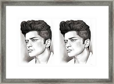 Bruno Double Framed Print