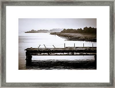 Brunswick Docks Framed Print
