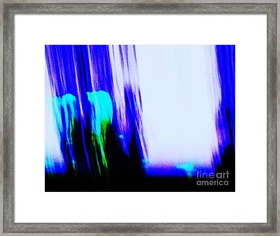 Brush Of Color And Light Framed Print by Eric  Schiabor