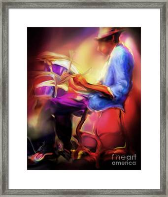 Brush Work Framed Print by Mike Massengale