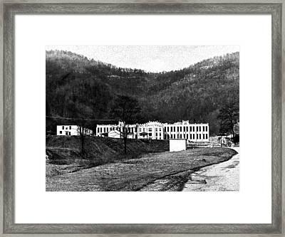 Brushy Mountain 1 Framed Print by Paul Mashburn