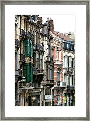 Brussels Architecture Framed Print