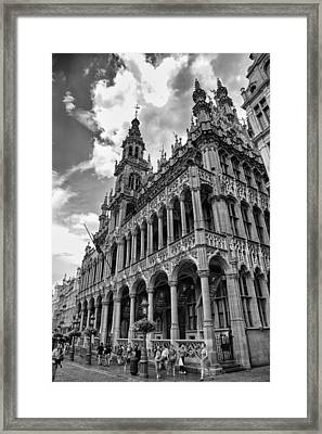 Brussels City Museum Framed Print by Georgia Fowler