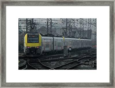 Brussels Departure  Framed Print by Rob Hawkins
