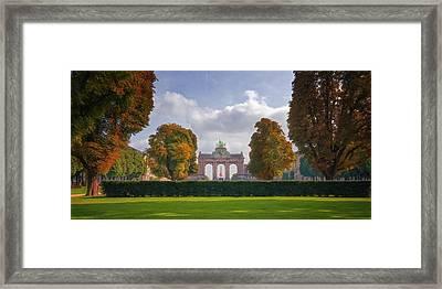 Brussels Park Framed Print