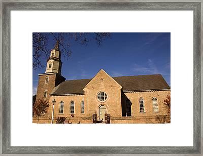 Bruton Parish Church Framed Print by Mark Currier