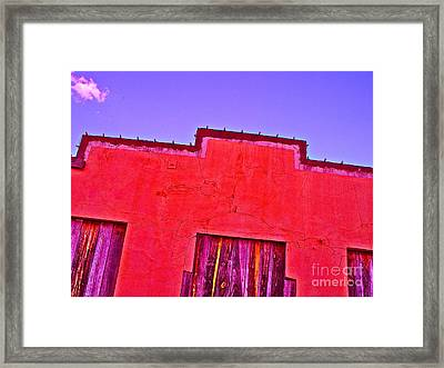 Bryan Downtown Framed Print by Chuck Taylor