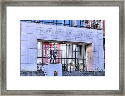 Bryant Denny  Framed Print by JC Findley