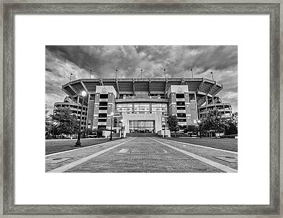 Bryant - Denny Stadium -- Walk Of Champions Framed Print by Stephen Stookey