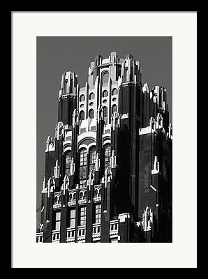 Wolkenkratzer Framed Prints