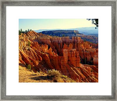 Bryce 3 Framed Print by Marty Koch
