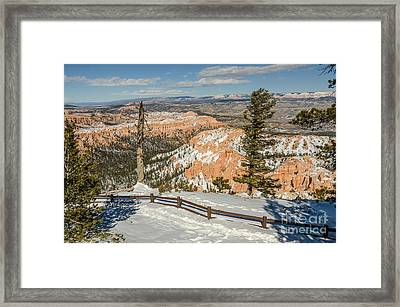 Bryce Amphitheater From Bryce Point Framed Print