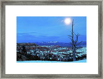 Bryce Blue Framed Print