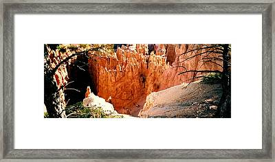 Bryce Canyon Framed Print by Fred Wilson
