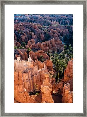 Bryce Canyon Hoodoos Framed Print by Joseph Smith