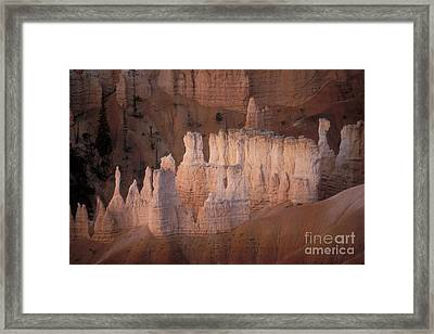Bryce Canyon Hoodoos Framed Print by Sandra Bronstein